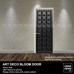 ART DECO DOOR GREY BLOOM