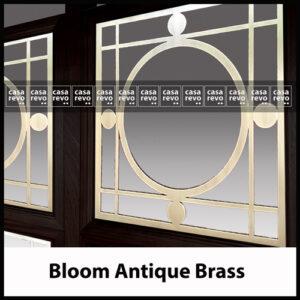 CASAREVO BLOOM brass room dividers