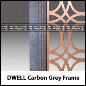 Antique Copper carbon Grey CASAREVO DWELL COVID 19 screen