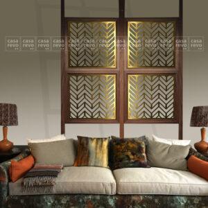 CASAREVO Chevron Art Deco screen