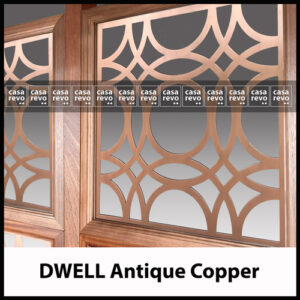casarevo antique copper DWELL patterns