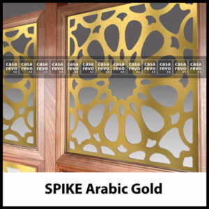 CASAREVO SPIKE gold room dividers