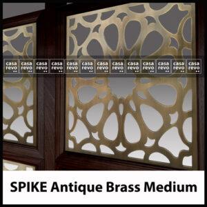 casarvevo antique brass fretwork pattern