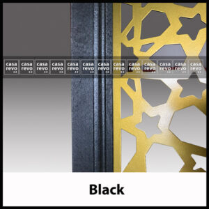 casarevo black room divider