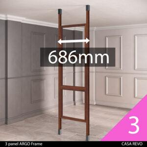 CASAREVO room partition sizes