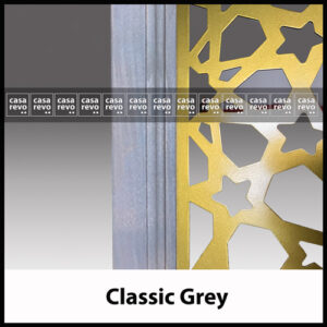 casarevo classic grey room divider