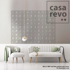 MOLLY painted MDF wall tile by CASAREVO