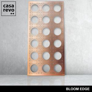 BLOOM EDGE BRONZE mdf panel by CASAREVO