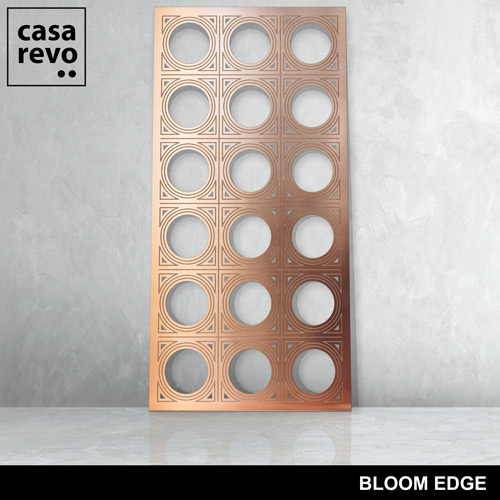 BLOOM EDGE BRONZE mdf panel by CASAREVO