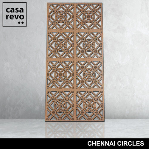 Chennai Circles 8 panels fretwork by CASAREVO
