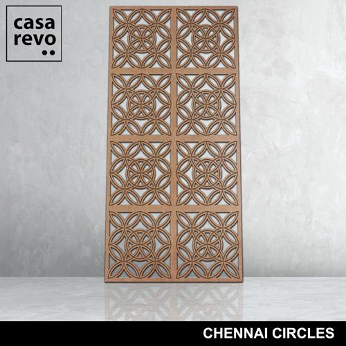 Chennai Circles 8 panels fretwork by CASAREVO