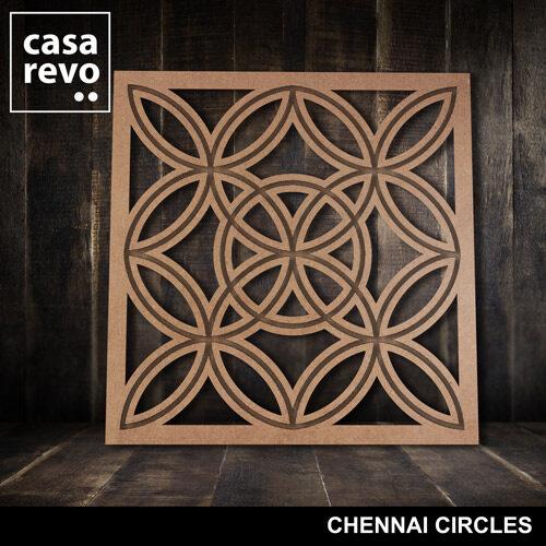 CHENNAI CIRCLES MDF FRETWORK PANELS