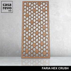 FARIA HEX CRUSH mdf screen by CASAREVO
