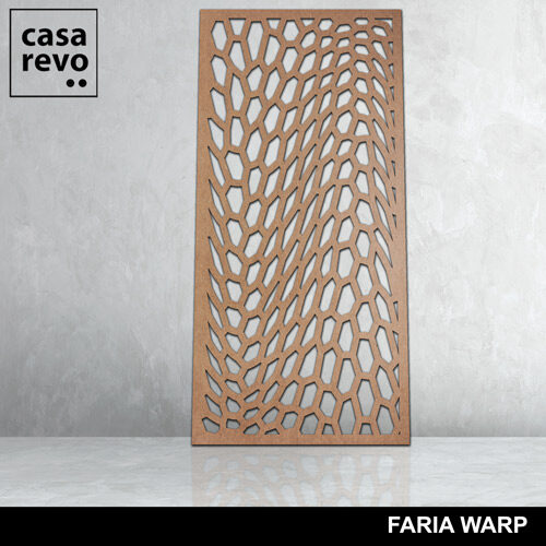 FARI WARP MDF screen by CASAREVO