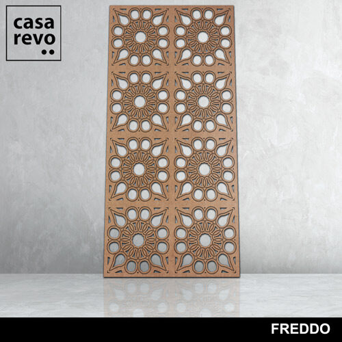 Freddo 8 panels fretwork by CASAREVO
