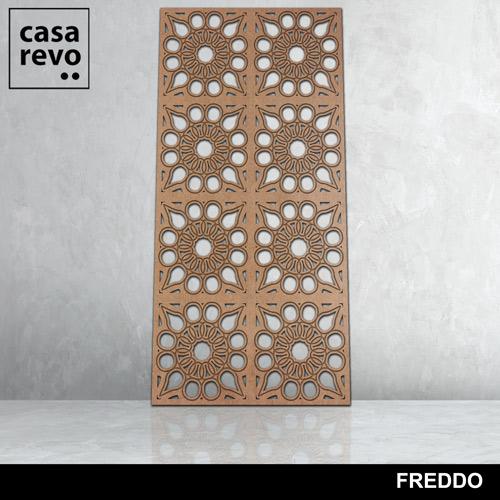 Freddo 8 panels fretwork by CASAREVO