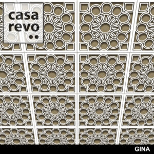 GINA MDF CEILING TILES BY CASAREVO