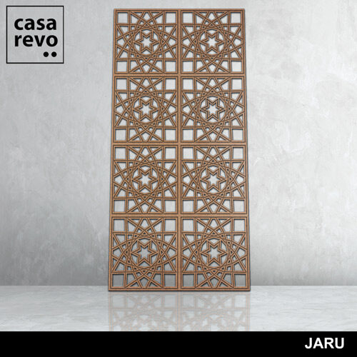 JARU 8 panels fretwork by CASAREVO