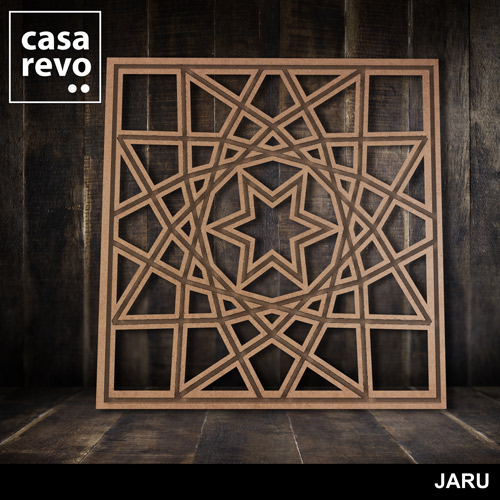 JARU MDF FRETWORK PANELS BY CASAREVO