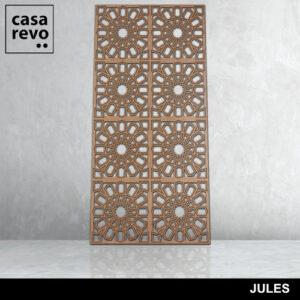 JULES 8 panels fretwork by CASAREVO