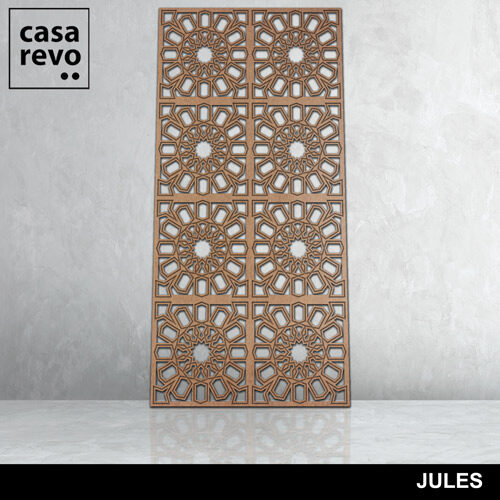JULES 8 panels fretwork by CASAREVO