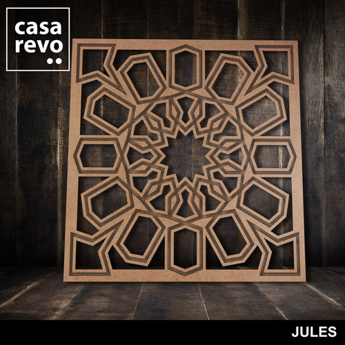 JULES MDF FRETWORK PANELS BY CASAREVO