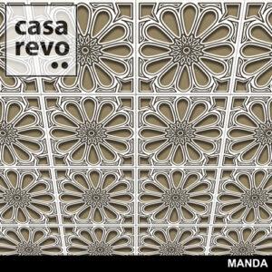 MANDA MDF CEILING TILES BY CASAREVO