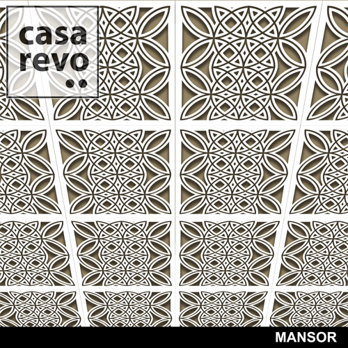MANSOR Ceiling Tiles by CASAREVO