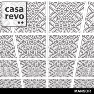 MANSOR MDF Ceiling tiles by CASAREVO