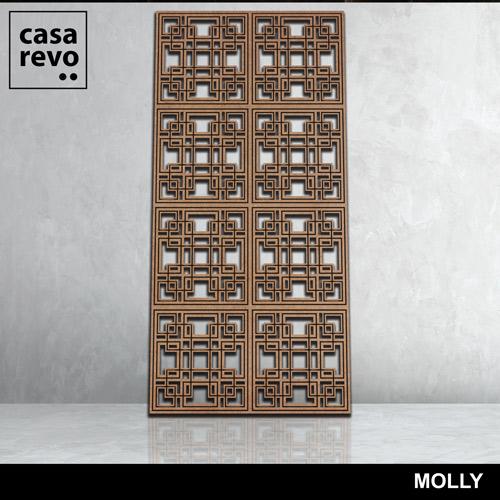 MOLLY 3D LARGE FRETWORK PANEL CASAREVO