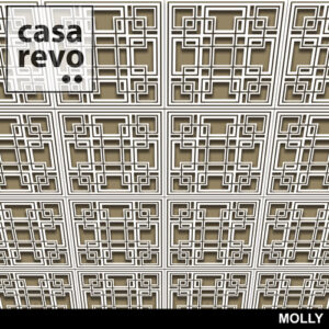 MOLLY MDF CEILING TILES BY CASAREVO
