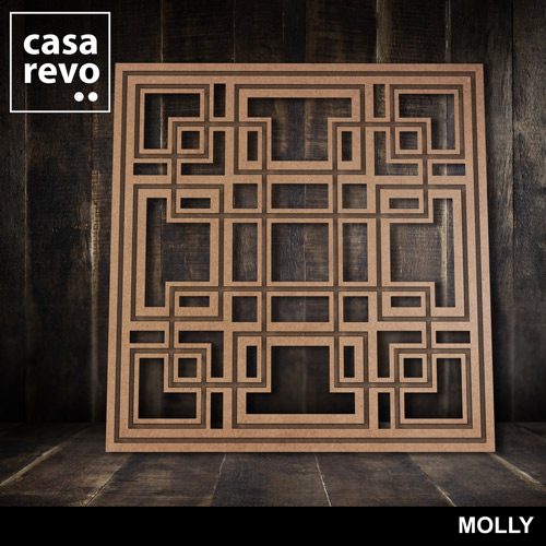 MOLLY MDF FRETWORK PANELS BY CASAREVO