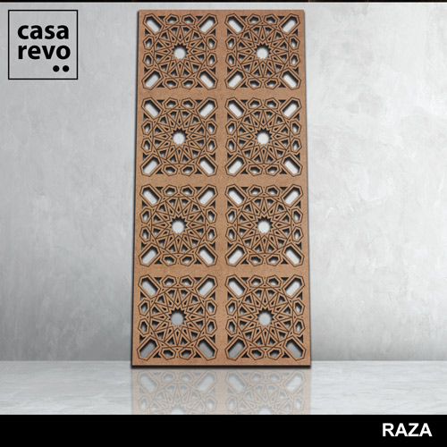 RAZA 3D MDF FRETWORK CASAREVO