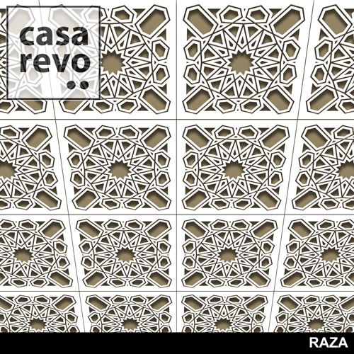 RAZA MDF CEILING TILES BY CASAREVO
