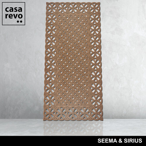 SEEMA AND SIRIUS MDF panel by CASAREVO