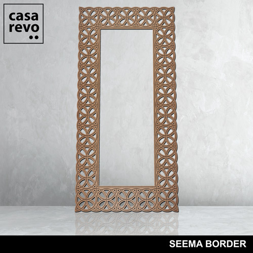 SEEMA BORDER mdf panel by CASAREO