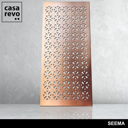 SEEMA BRASS MDF laminates by CASAREVO