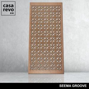 SEEMA GROOVE mdf panels by CASAREVO