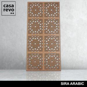 SIRA ARABIC 8 panels fretwork by CASAREVO