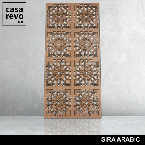 SIRA ARABIC 8 panels fretwork by CASAREVO