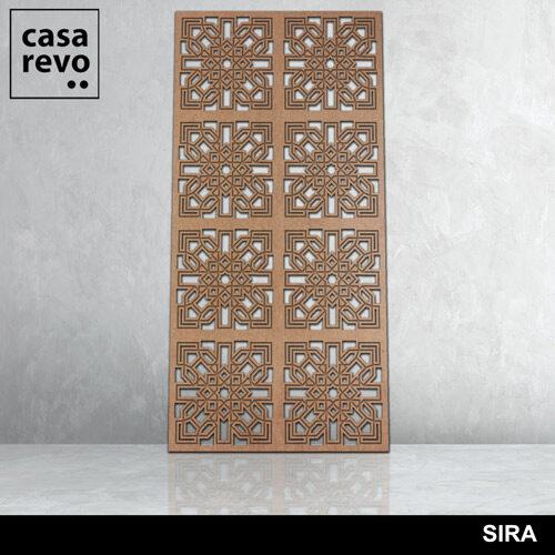 SIRA 8 panels fretwork by CASAREVO