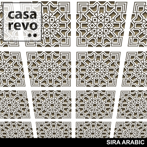 SIRA ARABIC MDF CEILING PANELS BY CASAREVO
