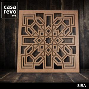 SIRA FRETWORK MDF PANELS BY CASAREVO
