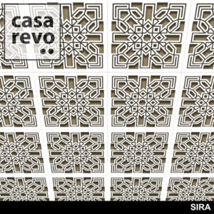 SIRA MDF CEILING TILES BY CASAREVO