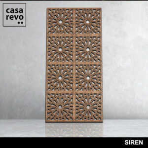SIREN 8 panels fretwork by CASAREVO