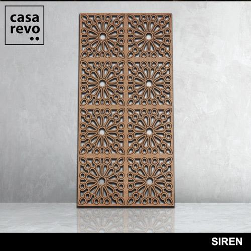 SIREN 8 panels fretwork by CASAREVO