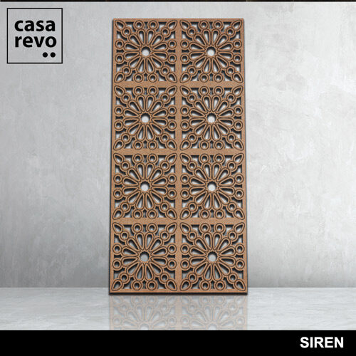 SIREN 3D Mdf fretwork panels