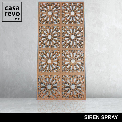 SIREN SPRAY 8 panels fretwork by CASAREVO