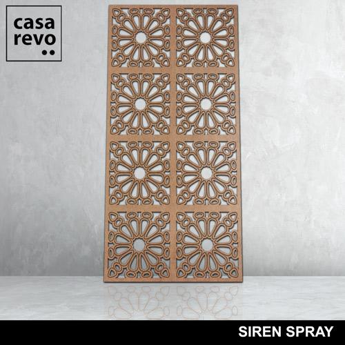 SIREN SPRAY 8 panels fretwork by CASAREVO
