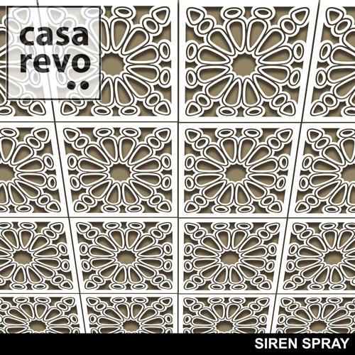 SIREN SPRAY MDF CEILING TILES BY CASAREVO